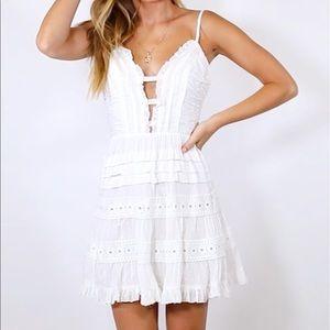 PRINCESS POLLY 'The Jadyn Mini Dress'